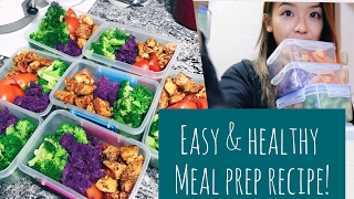 Hello subbies :) so as some of your may have noticed through my insta posts, meal preps recently changed and promised, here is the recipe for it! ...