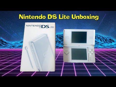 Polar White Nintendo Ds Lite Unboxing Youtube