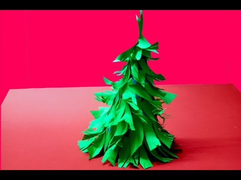 how to make origami 3d paper christmas tree decorations ideas do it yourself beautiful handmade