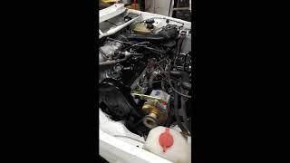 Mise en route moteur Golf 1 GTI