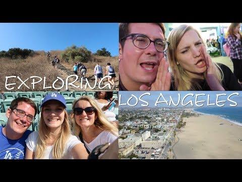 EXPLORING LOS ANGELES | USA TRAVEL VLOG #2