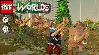 Lego Worlds - Trumpet Trunk Trumpeter [18]