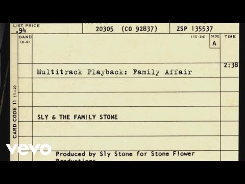 Sly & The Family Stone - Multitrack Playback: Family Affair