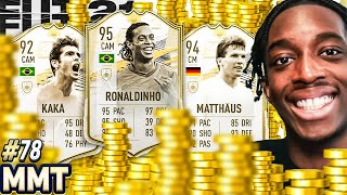 30 MILLION COINS SPENT ON A CRAZY TEAM! 🤑🤑💲💲 PM RONALDINHO!!!  S2 - MMT#78