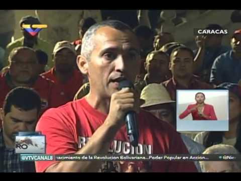 En Contacto con Maduro #51, parte 9/17, Consejo Presidencial de Obreros, habla Lewis Lugo