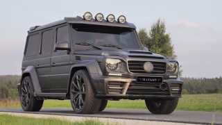 Mansory G63 Gronos Proves - carbon g-class #mansoryg63