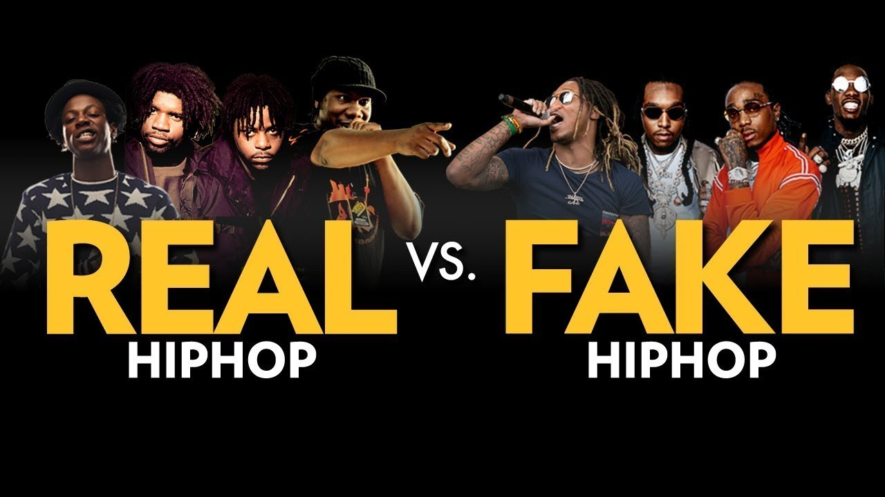 real hip hop vs fake hip hop youtube
