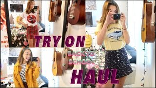 TRY-ON BACK TO SCHOOL CLOTHING HAUL