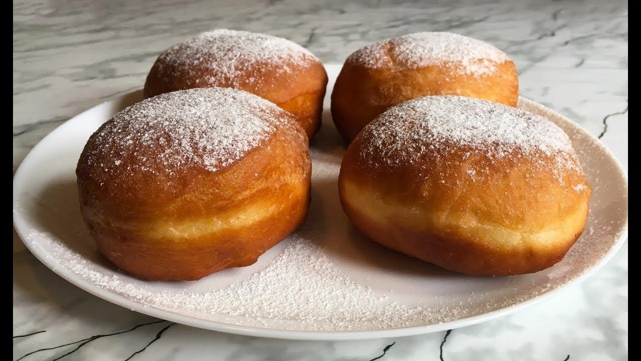 вкусные пончики с повидлом рецепты с видео