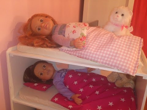 My AMAZE 6 bed multi bunks for Design A Friend dolls