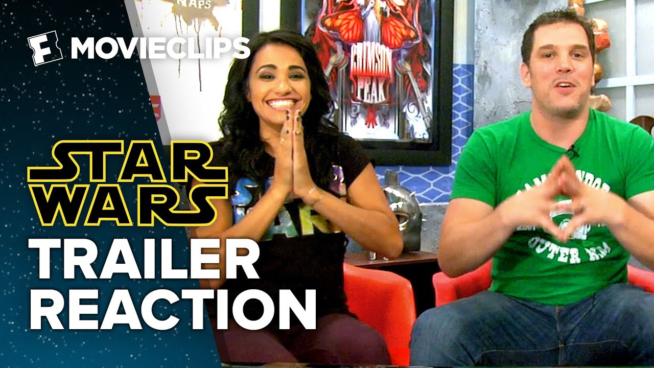 STAR WARS TRAILER #2 REACTION AND REVIEW - video …