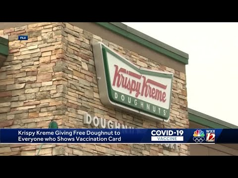 Krispy Kreme will give you a free donut every day in 2021 when you show your COVID-19 vaccine card