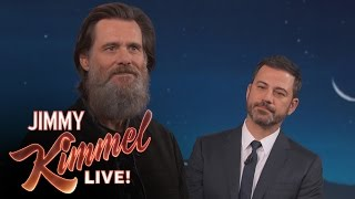 jim carrey on his famous beard leaving the spotlight