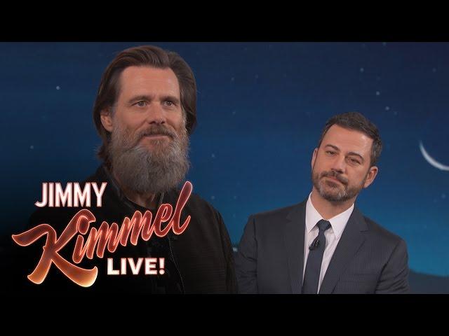 Jim Carrey on His Famous Beard & Leaving the Spotlight