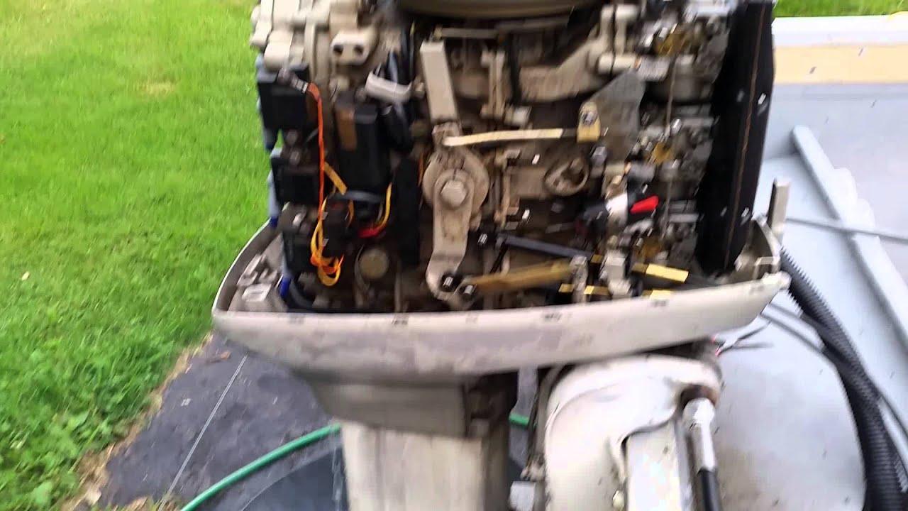 1984 johnson 70 hp youtube rh youtube com 40 HP Johnson Outboard Motor 1989 Johnson 70 HP Outboard