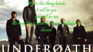 Underoath~~Desperate Times, Desperate Measures  w/Lyrics!!