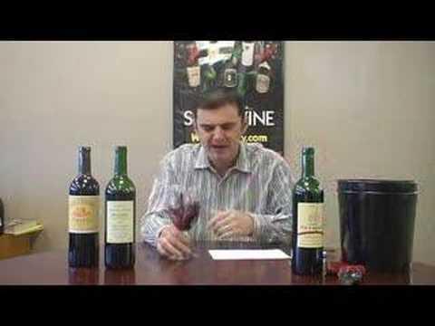 Episode 33 2005 Bordeaux: 1st taste out of barrel tasting.