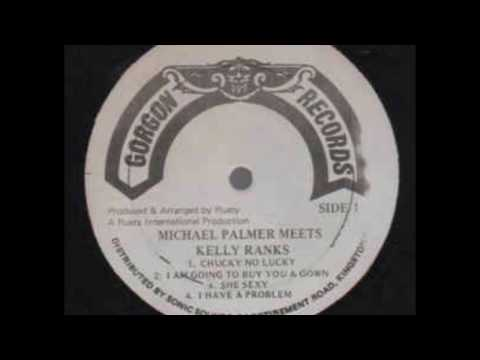 Michael Palmer - She Sexy - LP Gorgon Records 1985 - RUSTY LOVERS ROCK 80'S DANCEHALL