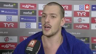 Interview Filip Coric na ZF Eger - AZC Alphen (LEN Champions League)