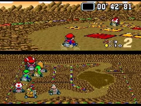 Super Mario Kart Choco Island 2