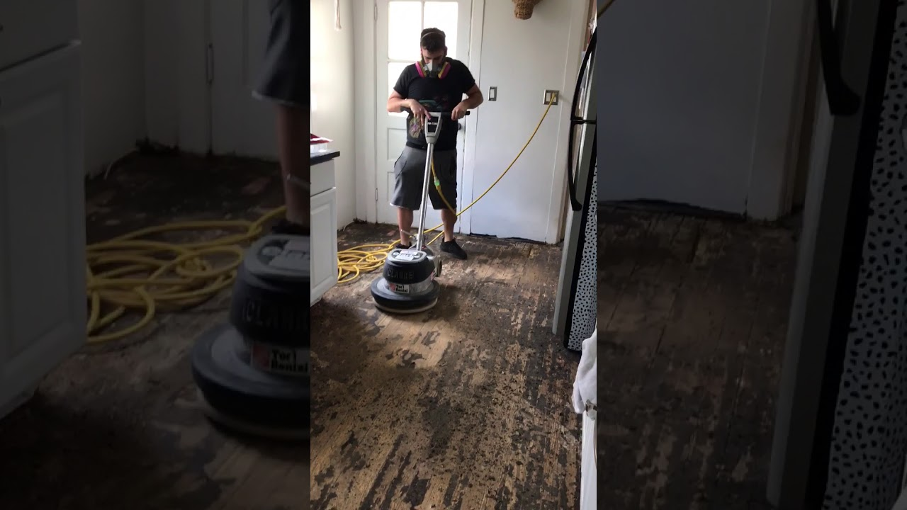 Removing Asbestos Tar Paper From Wood