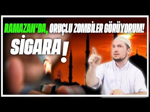 Ramazan'da, oruçlu zombiler görüyorum! - Sigara / Kerem Önder