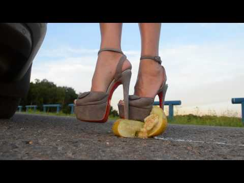Melon crush high heels