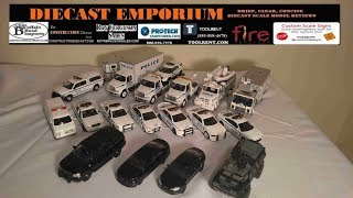 NYPD (New York Police Department) 1/64 Scale Collection