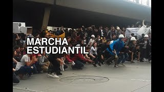 Universidad Nacional Marcha Estudiantil Bogotá -10 octubre 2018