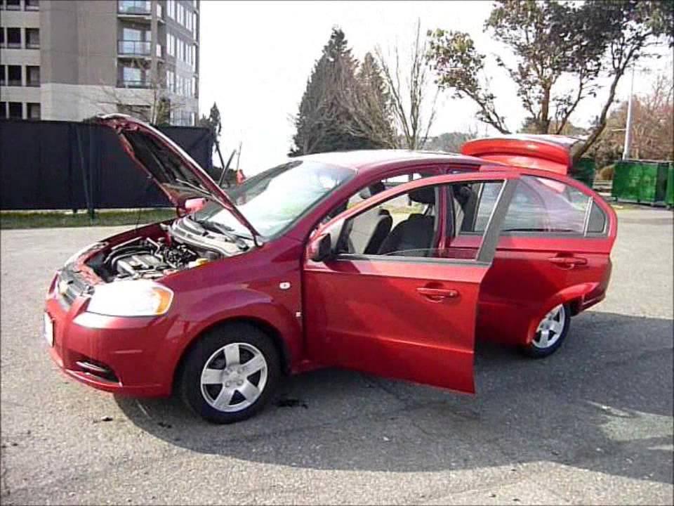 chevrolet aveo ls 2007 hatchback