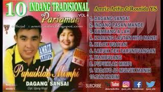 INDANG PARIAMAN vol 4 - AMRIZ ARIFIN - ROSNIDA YS - Pupuiklah Mimpi - full album ( lagu minang