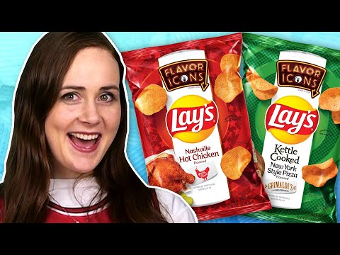 Irish People Try Signature Lay's Flavours
