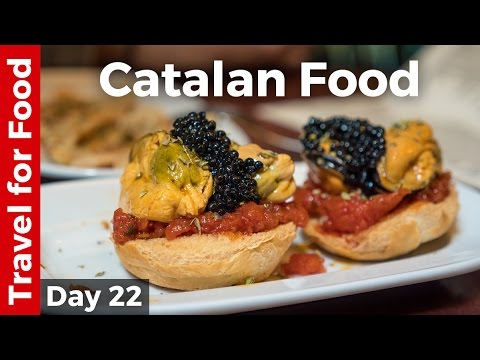 Spanish Catalan Food, AMAZING Tapas, and Antoni Gaudí Attrac