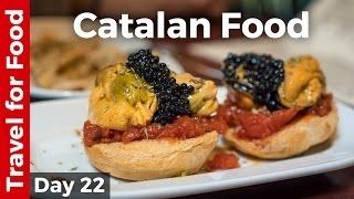 Spanish Catalan Food, AMAZING Tapas, and Antoni Gaud Attractions in Barcelona, Spain!