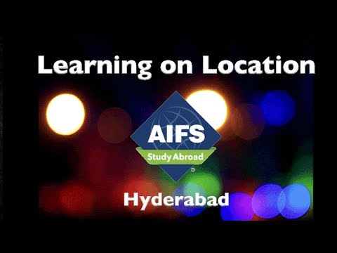 Learning on Location - AIFS in Hyderabad, India