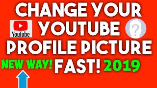 (NEW 2019)📷CHANGE YOUR GOOGLE OR YOUTUBE PROFILE PICTURE FAST🚩NEW WAY DUE TO RECENT GOOGLE CHANGE!
