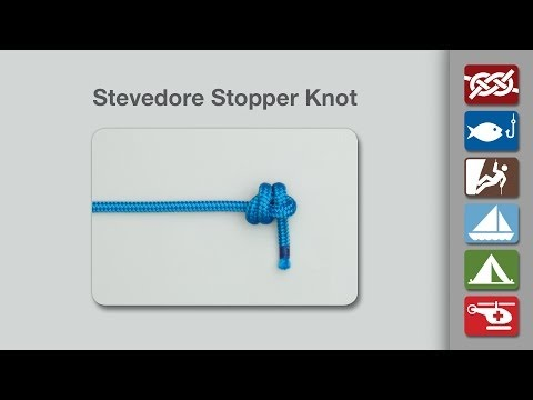 Stevedore Stopper Knot | How to Tie the Stevedore Stopper Knot