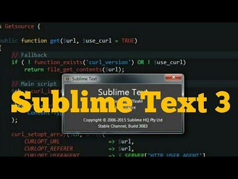sublime text 3 3143 license
