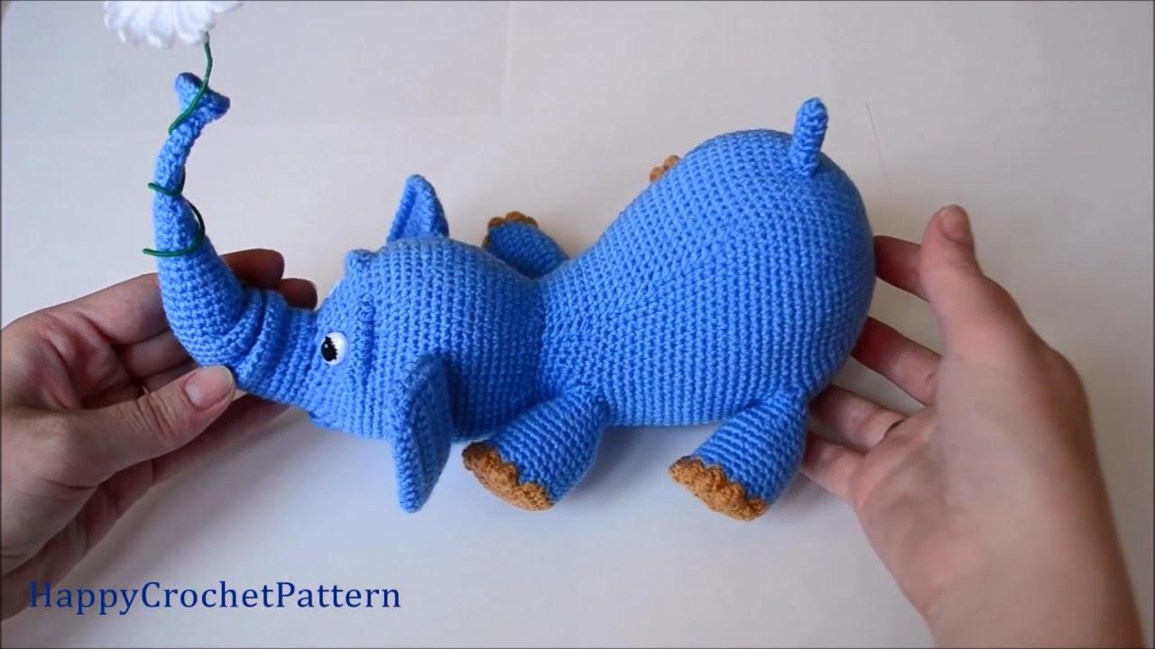 Elephants In Love | Free Crochet Pattern | Hooked by Kati | 720x1280