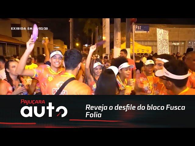Retrospectiva 2020: Reveja o desfile do bloco Fusca Folia