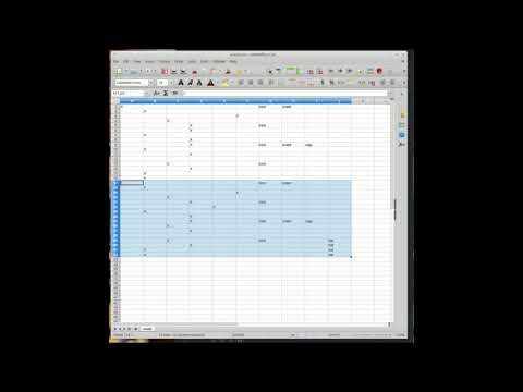 (Spread)sheet Music: Live Jam using a Spreadsheet Program as a Sequencer