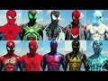 All Suits in Spider-Man PS4