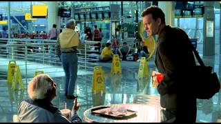 The Terminal - The asshole Janitor scene