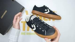 Converse Star Player Ox - Black Egret - Unboxing   Walktall
