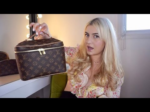 WHAT I PACK IN MY LV VANITY CASES (Quarantine edition)