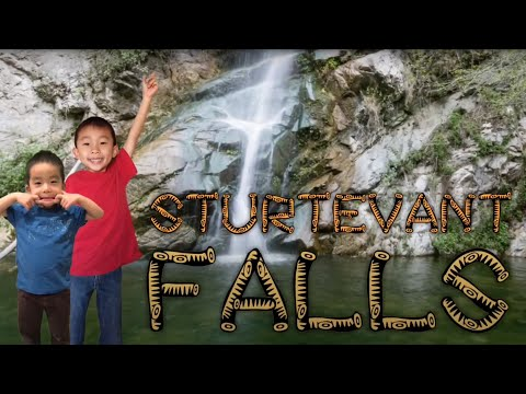 Sturtevant Falls Hike from Chantry Flats in Arcadia (Secret Waterfall in LA): Traveling with Kids