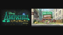 Amphibia and Big City Greens Theme Song Mix
