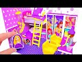 DIY Miniature Dollhouse Room ~ Rapunzel Room Decor, Backpack