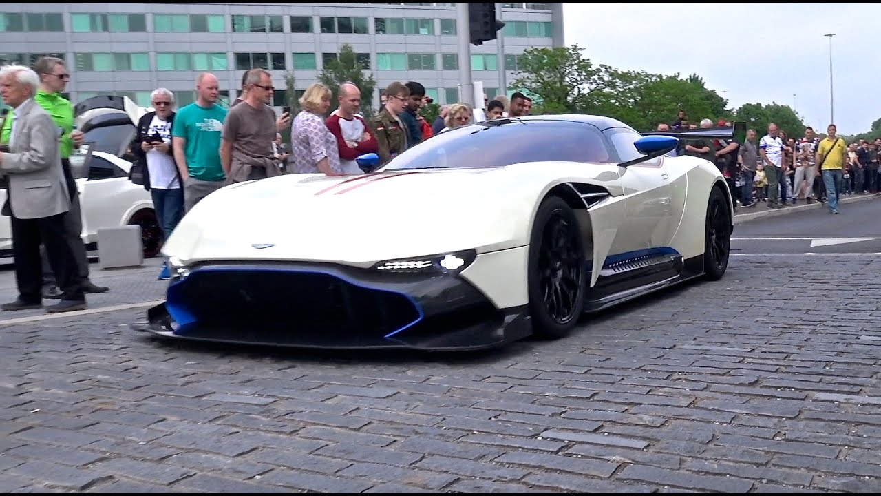 $2.3 million aston martin vulcan | cold starts, warm up revs