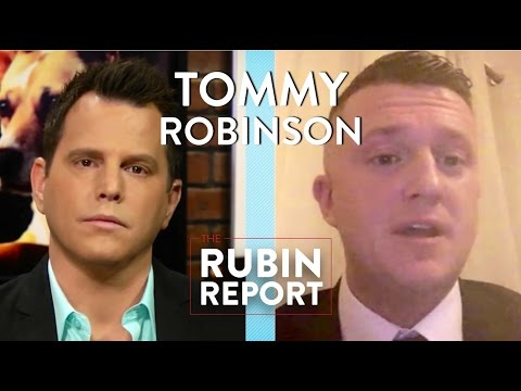 Tommy Robinson and Dave Rubin: Islam, Immigration, and Pegida (Full Interview)